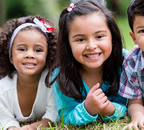 Health Happy Little Girls Showing Front Teeth | Pasadena Childrens Dentistry